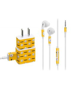 Pittsburgh Steelers Blitz Series Phone Charger Skin