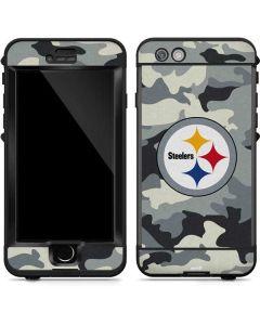 Pittsburgh Steelers Camo LifeProof Nuud iPhone Skin