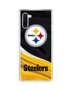 Pittsburgh Steelers Galaxy Note 10 Clear Case