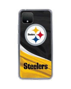Pittsburgh Steelers Google Pixel 4 XL Clear Case