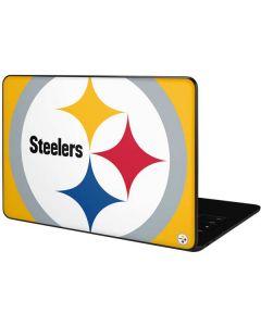 Pittsburgh Steelers Large Logo Google Pixelbook Go Skin