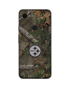 Pittsburgh Steelers Realtree Xtra Green Camo Google Pixel 3a Skin