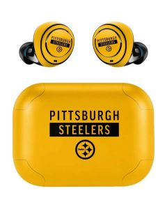 Pittsburgh Steelers Yellow Performance Series Amazon Echo Buds Skin