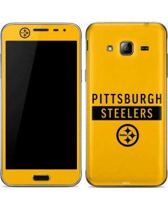 Pittsburgh Steelers Yellow Performance Series Galaxy J3 Skin