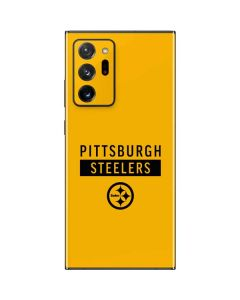 Pittsburgh Steelers Yellow Performance Series Galaxy Note20 Ultra 5G Skin
