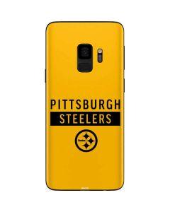 Pittsburgh Steelers Yellow Performance Series Galaxy S9 Skin