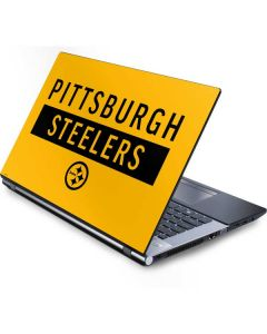 Pittsburgh Steelers Yellow Performance Series Generic Laptop Skin