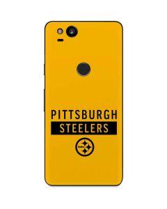 Pittsburgh Steelers Yellow Performance Series Google Pixel 2 Skin