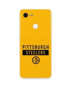 Pittsburgh Steelers Yellow Performance Series Google Pixel 3 Skin