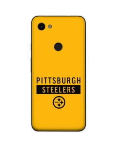 Pittsburgh Steelers Yellow Performance Series Google Pixel 3a Skin