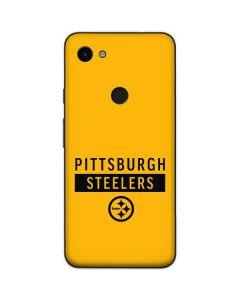 Pittsburgh Steelers Yellow Performance Series Google Pixel 3a XL Skin