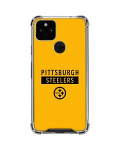 Pittsburgh Steelers Yellow Performance Series Google Pixel 4a 5G Clear Case