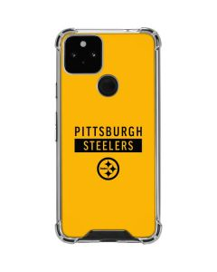 Pittsburgh Steelers Yellow Performance Series Google Pixel 5 Clear Case