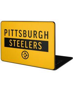 Pittsburgh Steelers Yellow Performance Series Google Pixelbook Go Skin