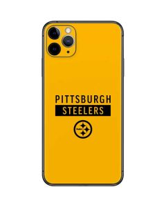 Pittsburgh Steelers Yellow Performance Series iPhone 11 Pro Max Skin