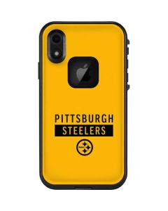 Pittsburgh Steelers Yellow Performance Series LifeProof Fre iPhone Skin