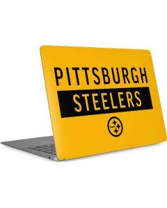 Pittsburgh Steelers Yellow Performance Series Apple MacBook Air Skin