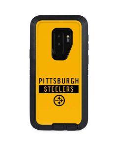 Pittsburgh Steelers Yellow Performance Series Otterbox Defender Galaxy Skin