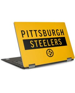 Pittsburgh Steelers Yellow Performance Series Dell XPS Skin