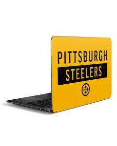 Pittsburgh Steelers Yellow Performance Series Zenbook UX305FA 13.3in Skin