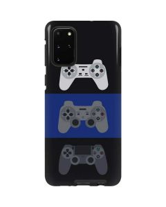 PlayStation Controller Evolution Galaxy S20 Plus Pro Case