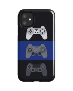 PlayStation Controller Evolution iPhone 11 Impact Case