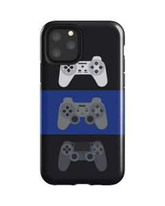 PlayStation Controller Evolution iPhone 11 Pro Impact Case