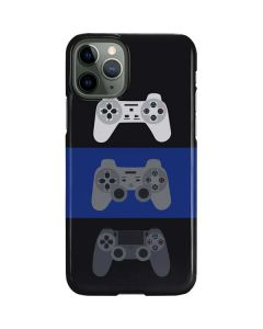 PlayStation Controller Evolution iPhone 11 Pro Lite Case