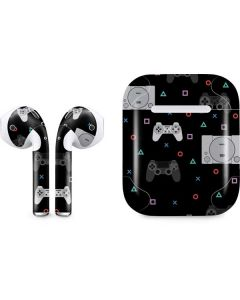 PlayStation Pattern Apple AirPods Skin