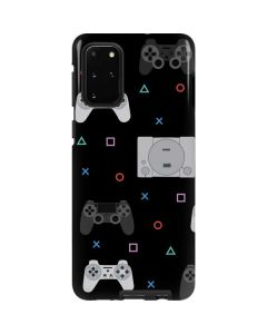 PlayStation Pattern Galaxy S20 Plus Pro Case
