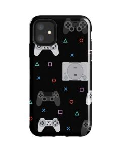 PlayStation Pattern iPhone 11 Impact Case