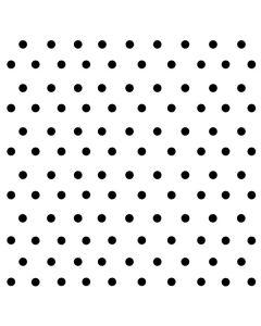 White and Black Polka Dots Acer Chromebook Skin