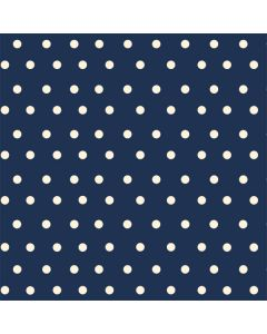 Blue and Cream Polka Dots LifeProof Nuud iPhone Skin