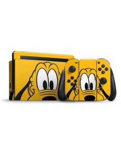 Pluto Up Close Nintendo Switch Bundle Skin