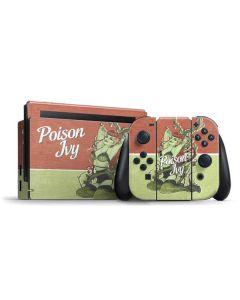 Poison Ivy Nintendo Switch Bundle Skin