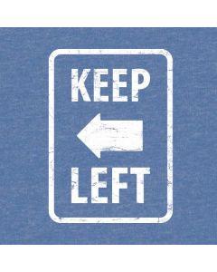 Keep Left HP Notebook Skin