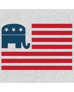 Republican American Flag Generic Laptop Skin