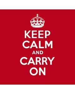 Keep Calm and Carry On Galaxy Book Keyboard Folio 12in Skin