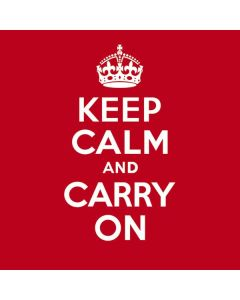 Keep Calm and Carry On HP Pavilion Skin