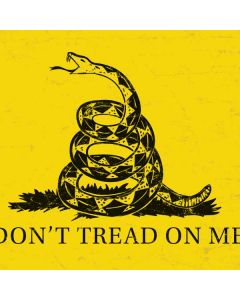 Dont Tread On Me HP Notebook Skin
