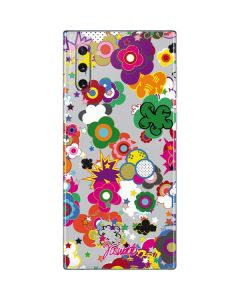 Pop Garden White Galaxy Note 10 Skin