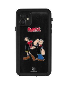 Popeye and Olive Oyl iPhone 11 Waterproof Case