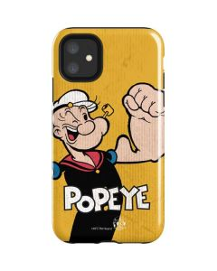 Popeye Flexing iPhone 11 Impact Case