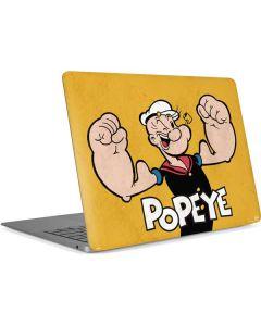Popeye Flexing Apple MacBook Air Skin