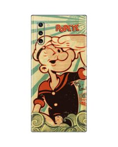 Popeye out at Sea Galaxy Note 10 Skin