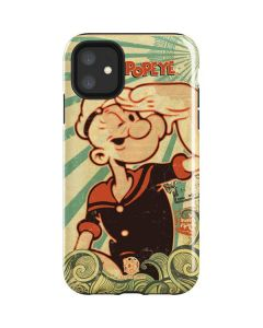 Popeye out at Sea iPhone 11 Impact Case