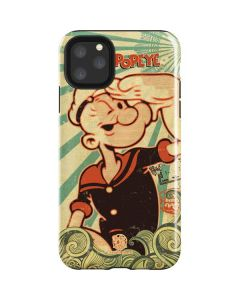 Popeye out at Sea iPhone 11 Pro Max Impact Case