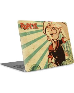 Popeye out at Sea Apple MacBook Air Skin