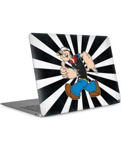 Popeye Thumbs Up Apple MacBook Air Skin