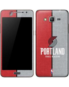 Portland Trail Blazers Canvas Galaxy Grand Prime Skin
